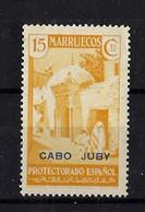 CABO JUBY *71 Nuevo Con Charnela. Cat.8,50 € - Cabo Juby