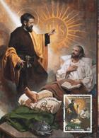 65372 Vaticano, Maximum 2021, Painting Of Raul Berzosa, Conversion Of St.Ignaz Of Loyola, - Maximum Cards