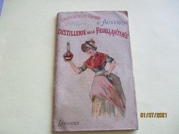 Distillerie Feuillantine  Limoges  Rhum Fox Land Indicateur Guide Auvergne Publicite - 1900 – 1949