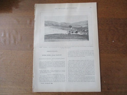 LES MISSIONS CATHOLIQUES DU 20 JUILLET 1894 SYRIE BA'ALBEK,LA REVOLUTION DU CAP ESTERIAS,TREMBLEMENT DE TERRE DE CONSTAN - Riviste - Ante 1900