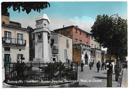 Pietragalla (Potenza). Piazza Principe Umberto E Monumento Ai Caduti. - Potenza