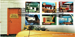 New Zealand 2002 Holiday Hideaways FDC - FDC