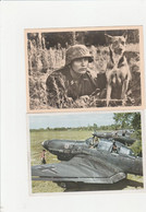 ALLEMAGNE  REICH  2 CARTES POSTALES - War 1939-45