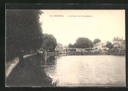 CPA Saint-Vinnemer, Le Canal De Bourgogne - Unclassified