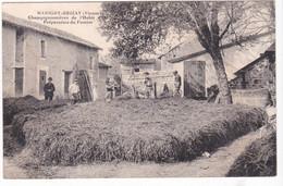 Marigny-Brizay, Champignonnières De L'Habit D'Or, Préparation Du Fumier - Altri Comuni