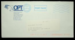 Nouvelle Calédonie - Néopost 5 Lignes Ondulées De Nouméa En Port Payé - 2015 - Storia Postale