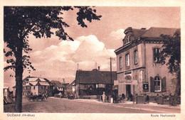 68 - Haut Rhin -  GUEMAR - Route Nationale - Restaurant Du Parc - Autres Communes