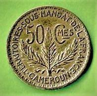 CAMEROUN SOUS MANDAT DE LA FRANCE / 50 CENTIMES / 1924 / ETAT SUP - Camerun