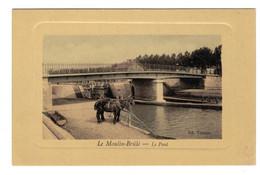 DG2110 - DEP.02 - LE MOULIN BRÛLÉ - LA PONT - St. QUENTIN AVEC CHEVAL - Other Municipalities