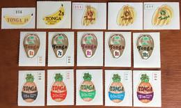 Tonga 1978 Fruit Official Set Complete MNH - Frutta