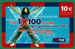 TIM - 1X100 Di TIM - NUP10-R Scad. Feb 2010 - GSM-Kaarten, Aanvulling & Voorafbetaald