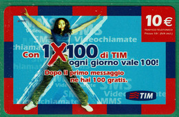 TIM - 1X100 Di TIM - NUP10-P Scad. Mar 2010 - GSM-Kaarten, Aanvulling & Voorafbetaald