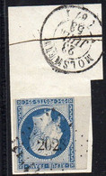 FRANCE ( OBLITERATION  LOSANGE ) : P C  2023  Molsheim Bas-Rhin (67). A  SAISIR . - 1849-1876: Période Classique