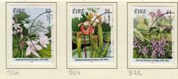 Irlande O N° Yv 920, 921, 922; Mi 917A, 918A, 919A; SG 973, 974, 975; Fleurs - Used Stamps
