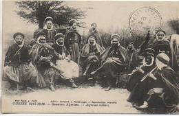Guerre14-18  Goumiers Algériens - Guerra 1914-18