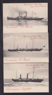 """10 C. Schiffs-Ganzachen """"SP 4"""" - Komplett Ungebraucht - Cartoline [1909-34]"""