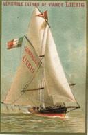 Chromo LIEBIG : S 109 / E - Bastimenti A Vela /  Navires à Voile - 1883/1885 - Liebig