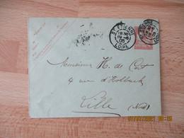 Daguin Double Jumele Sur Entier Postal Mouchon - 1877-1920: Semi Modern Period