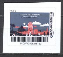 MZZ 23. Sachsen-Anhalt-Tag Stendal 01.-03. Juli 2022 (70) G1254 - Privé- & Lokale Post