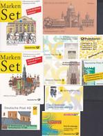 Bund - 10 Markenheftchen Aus 1991 - 1999 - Postfrisch MNH - Carnet