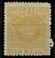 Moçambique, 1876, # 2b Dent. 13 1/2, MH - Mosambik