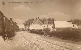 Belgique - La Panne - Sous La Neige - Rue Du Chaudron - De Panne