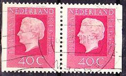 Niederlande Netherlands Pays-Bas - Zusammendrucke Aus MH (MiNr: 976 D/D) Bzw. (NVPH: 93) 1973 - Gest Used Obl - Booklets