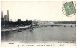54 PONT-SAINT-VINCENT - Pont Du Chemin De Fer - Altri Comuni