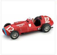 Ferrari 375 - Alberto Ascari - Indianapolis 1952 #12 - Brumm - Brumm