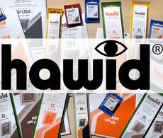 HAWID-Streifen 2048 210 X 48 Mm, Glasklar, 25 Stück (grüne Verpackung) - Fächer