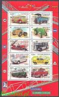 France 2003 Mi Sheet 3751-3760 MNH  (ZE1 FRNark3751-3760) - Auto's