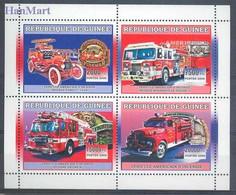 Guinea 2006 Mi 4433-4436 MNH  (LZS5 GURark4433-4436) - Auto's