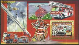 Guinea 2006 Mi Block 1071 MNH  (ZS5 GURbl1071) - Brandweer