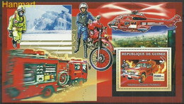 Guinea 2006 Mi Block1069 MNH  (ZS5 GURbl1069) - Brandweer