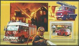 Guinea 2006 Mi Block1074 MNH  (ZS5 GURbl1074) - Brandweer