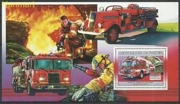 Guinea 2006 Mi Block1065 MNH  (ZS5 GURbl1065) - Brandweer