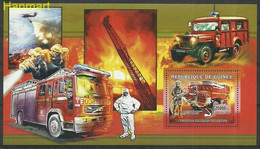 Guinea 2006 Mi Block1073 MNH  (ZS5 GURbl1073) - Brandweer