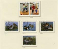 Irlande O N° Yv 961, 962, 963, 964, 965, 966; Mi 958, 959, 960, .; SG 1016a, 1018, 1019, 1020, 1021. - Used Stamps