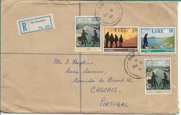 Ireland , Eire ,   1981 ,  50th Anniv. Of An Oige  , Irish Youth Hostel Association ,  Bri Chualann Registration Label - Cartas