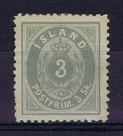Iceland: 1873 Mi Nr 2B Not Used (*) SG  1873 - Neufs