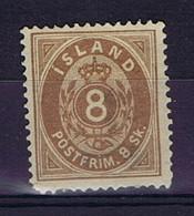 Iceland: 1873 Mi Nr 4A MH/*, Mit Falz, Avec Charnière - Neufs