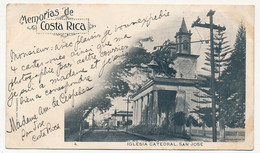 CPA - COSTA RICA - Iglesia Cathedral, San Jose - Costa Rica