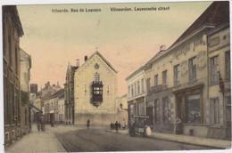 Vilvoorde - Leuvense Straat (gekleurde En Gelopen Kaart Met Zegel) - Vilvoorde