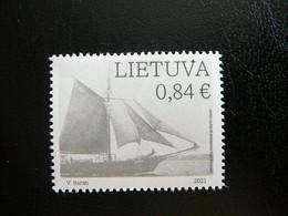Ships Sailboats # Lithuania Lietuva Litauen Lituanie Litouwen # 2021 MNH - Lithuania