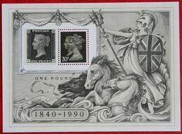 150 Years Of Post Stamps (Mi Block 6) 1990 POSTFRIS MNH ** ENGLAND GRANDE-BRETAGNE GB GREAT BRITAIN - Nuevos