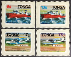 Tonga 1982 Inter-Island Transport MNH - Tonga (1970-...)