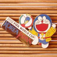 Joli Pin's Foot FIFA World Cup 2002, émail Grand Feu, TBQ, Pins Pin. - Football