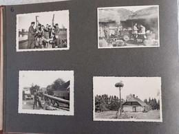 TRES BEL ALBUM ALLEMAND  SECONDE GUERRE COMPOSE DE 208 PHOTOS NORD DE LA FRANCE ET AUTRE SUR 43 PAGES EXCELLENT ETAT - 1939-45