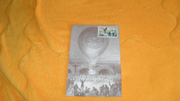 CARTE MAXIMUM  ANCIENNE DE 1959../ LA POSTE EN 1870 - 1871 PARIS + TIMBRES - 1950-59