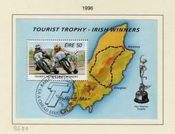 Irlande O N° Yv BF21; Mi BL19; SG MS986. Moto. - Used Stamps